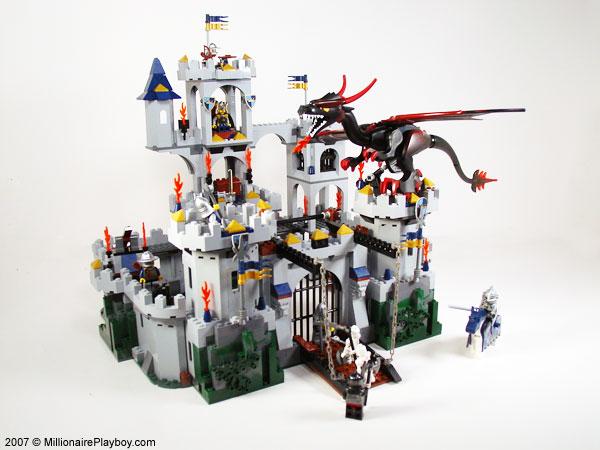 Millionaire Playboy Collectibles Lego Castle Kings Castle Seige