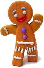 gingerbread man pandizenzero uomo focaccina shrek