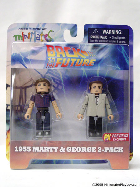 Back to the Future Minimates /'Enchantment Under the Sea/' Exclusive 2-Pack