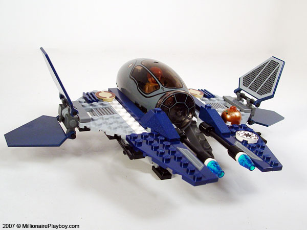 Lego Jedi Starfighter With Hyperdrive Booster Ring 7661