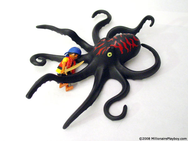 Playmobil Raft With Octopus 4291
