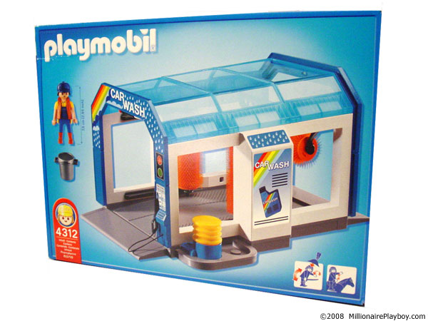 Car wash playmobil