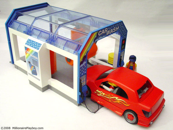 how to make a toy car wash
