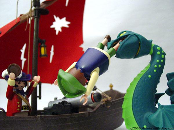 Playmobil pirate a3707 flag skull petit bateau 4444