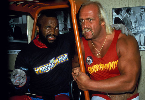 Hogan and Mr. T