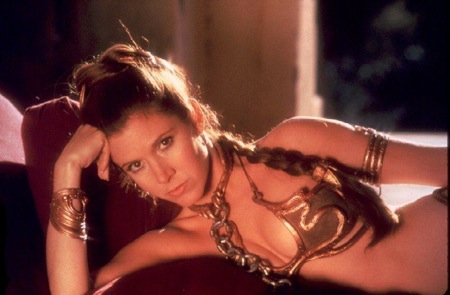 Princess Leia in Slave Girl Outfit