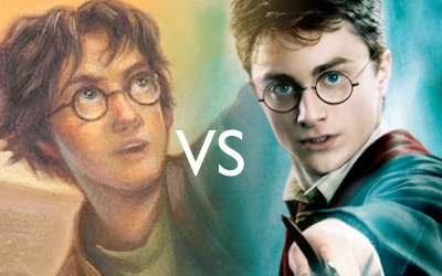Harry Potter Books vs. Film
