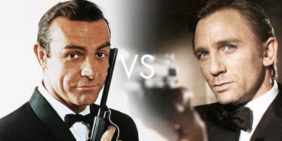 Connery vs Craig