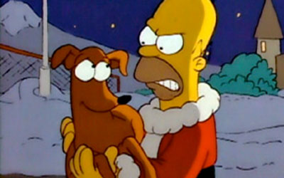The Simpsons Christmas Episodes.Essential Seven Tv Show Christmas Episodes