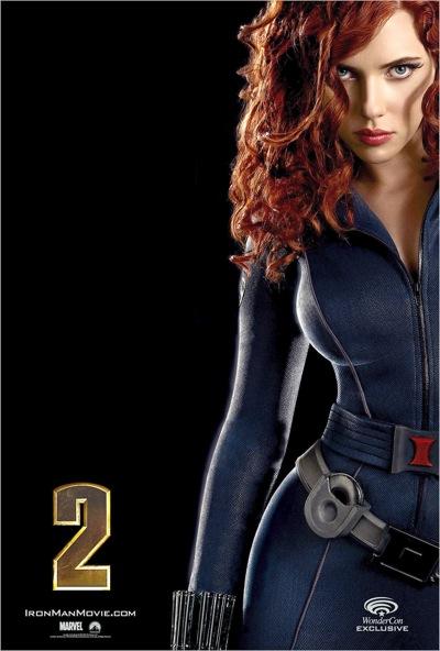 Scarlett johansson black widow poster - photo#31