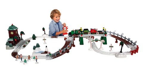 Fisher-Price GeoTrax Christmas In ToyTown RC Train Set