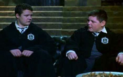 Crabbe and Goyle from Harry Potter