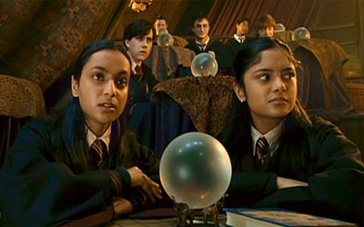 The Patil Twins from Harry Potter